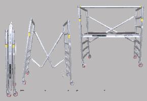 Folding Scaffold System