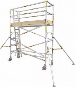 0.8m Narrow Aluminium Mobile Scaffold Tower